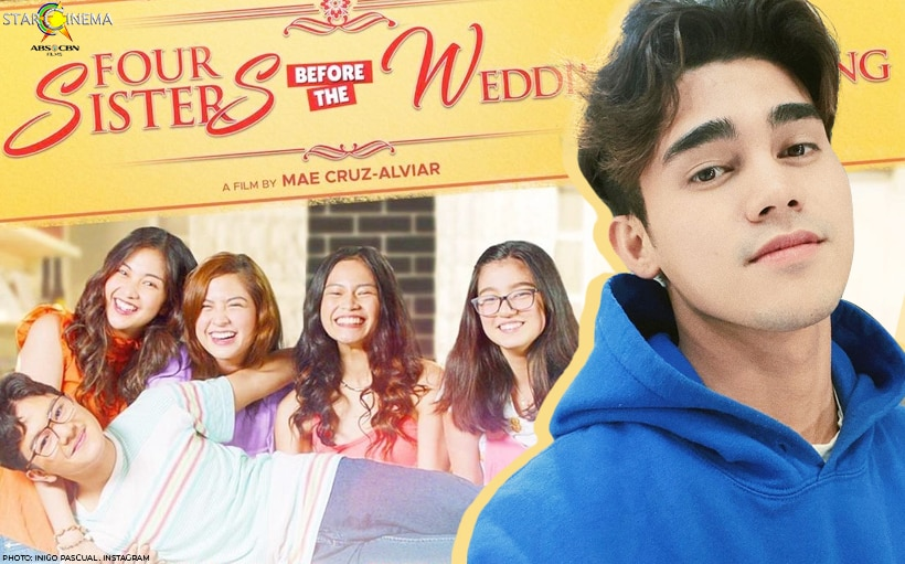 Inigo Pascual's 'Maligaya Ang Buhay' is the official 'Four Sisters Before the Wedding' theme song!