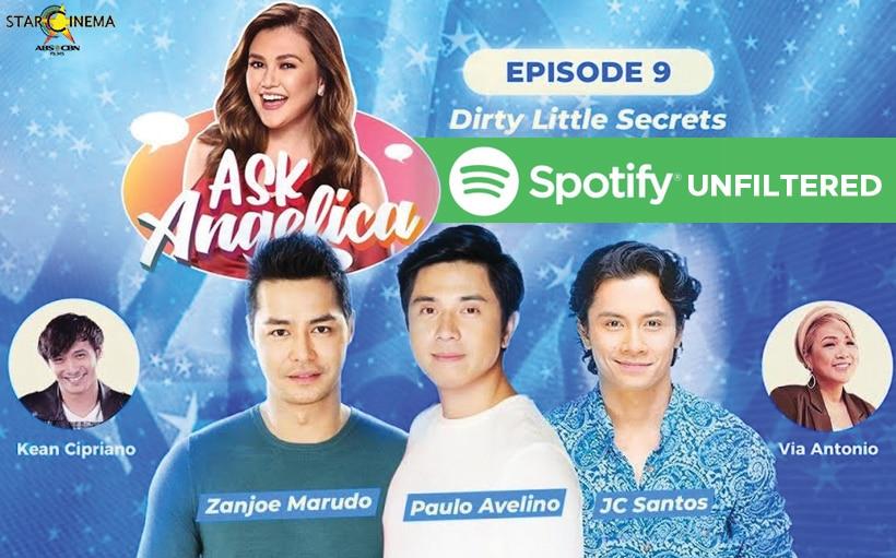 Angelica, binuking si Zanjoe, JC, and Paulo sa 'Ask Angelica' EP 9 unfiltered version!