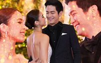 Behind-the-scenes kilig with JoshLia at the #StarMagicBall2017