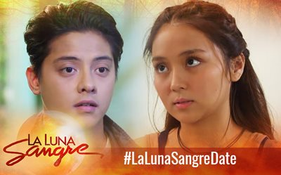 #LaLunaSangreDate Scene of the Day: Supportive friends ;)