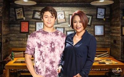 Direk Cathy gives high praise to Enrique Gil's 'improved' acting