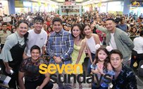 Team 'Seven Sundays' at SM Bicutan mall show