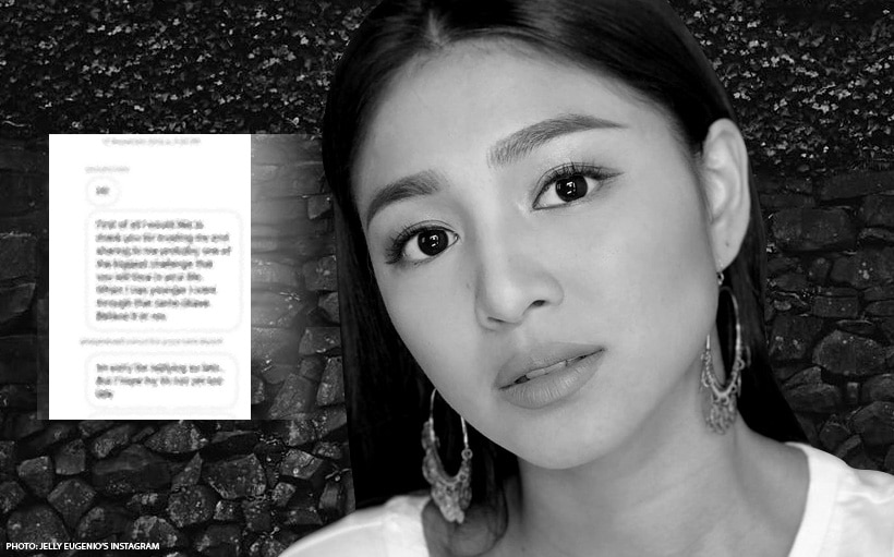 How Nadine served as the light to a struggling fan