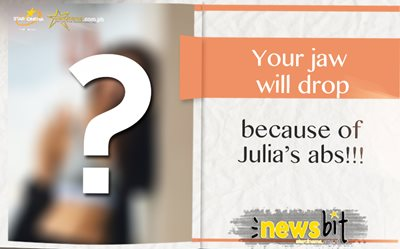 Your jaws will drop because of Julia's abs!!!