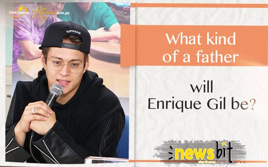 What kind of a father will Enrique Gil be?