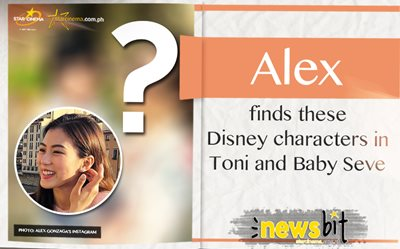 Alex finds these Disney characters in Toni and Baby Seve