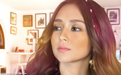 Kathryn Bernardo gives in to the 'Seven Sundays' craze!