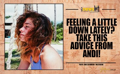 Feeling a little down lately? Take this advice from Andi!