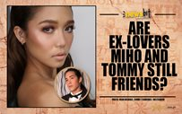 Are ex-lovers Miho and Tommy still friends?