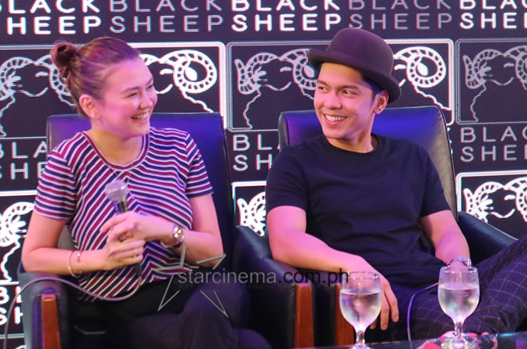 Get you a man who looks at you like Carlo looks at Angelica.