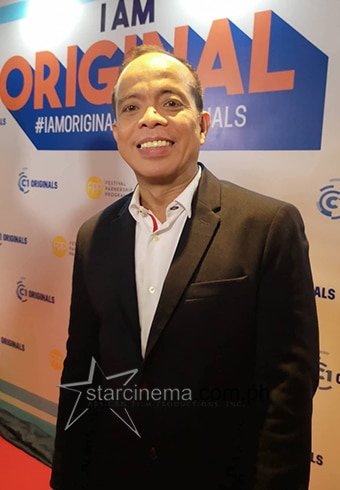 Cinema One Originals Channel Head Ronald Arguelles