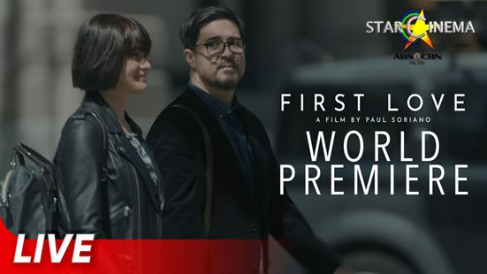 Join all the stars present at the #FirstLoveMovieWorldPremiere!