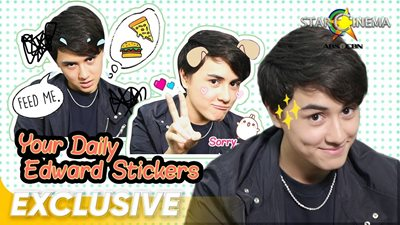 Edward Barber spreads cuteness with new 'sticker' faces!