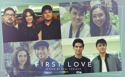 PHOTOS: What happened at the 'First Love' premiere night cast party!