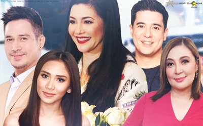 Regine, excited magka-reunion with Piolo, Sarah, Aga + more!