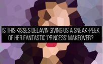 Is this Kisses Delavin giving us a sneak-peek of her fantastic 'princess' makeover?