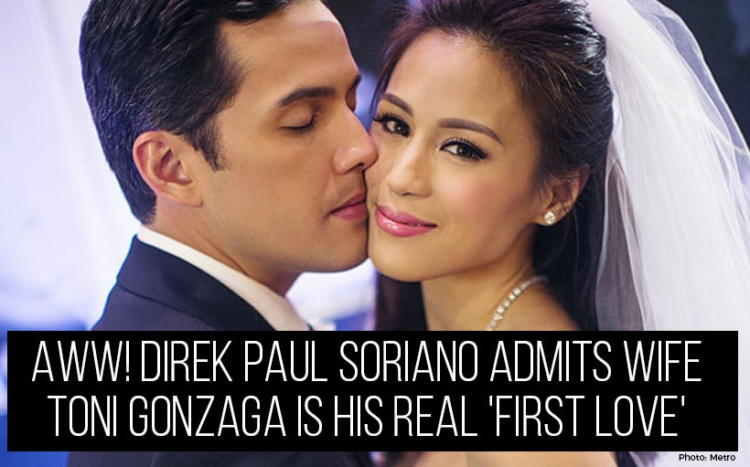 Aww! Direk Paul Soriano admits wife Toni Gonzaga is his real 'first love'
