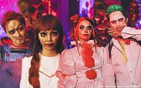 LizQuen, MayWard + more go all out for Haunted Halloween Party!