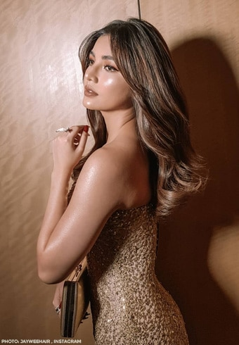 Jane De Leon's jaw dropping look for the Red Charity Gala
