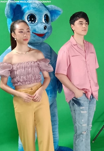 Scenes from Mayward's promo shoot for their upcoming project!