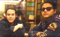 Daniel Padilla shows support for brother's band!