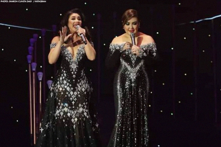"Scenes from Regine and Sharon's ""Iconic"" concert! 3"