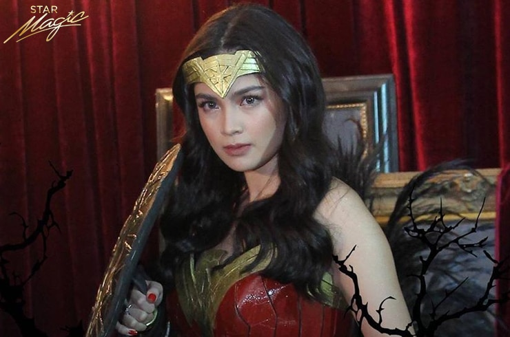 Heaven Peralejo was awarded with the Sexiest Costume Award for her Wonder Woman costume