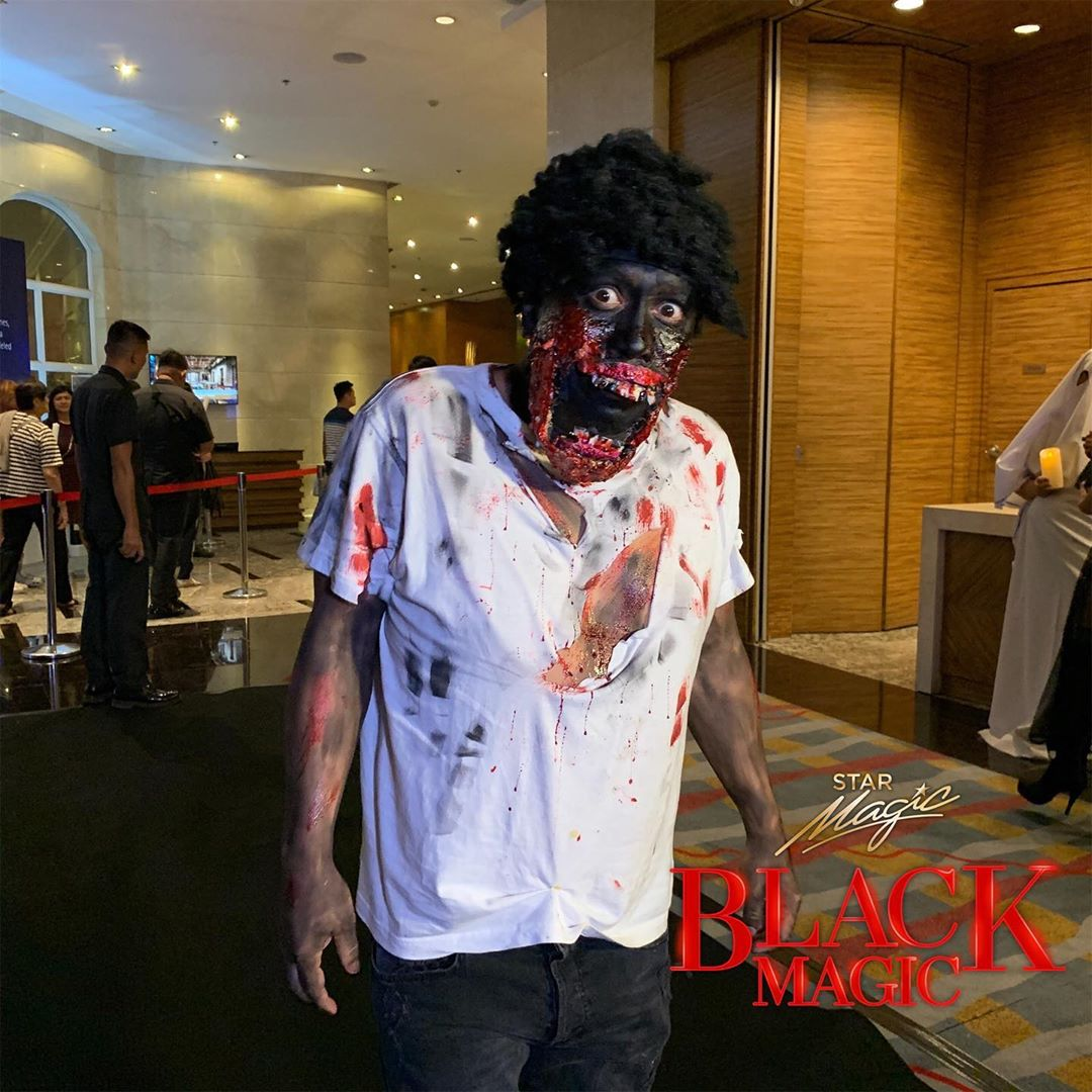 Kapamilya celebrities show off their creativity by donning their Halloween costumes at the Star Magic Black Magic event!