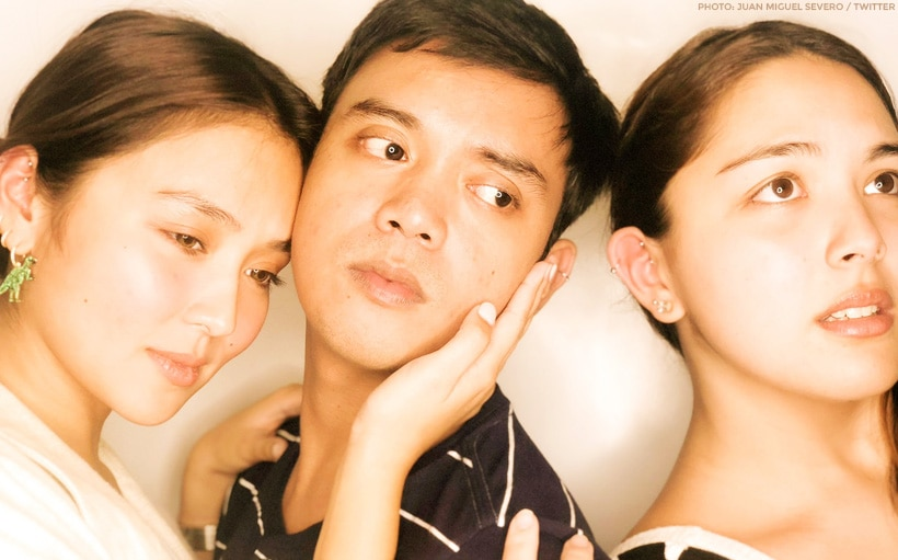 Kathryn, Ria, + Juan Miguel get together at the Black Magic 2019