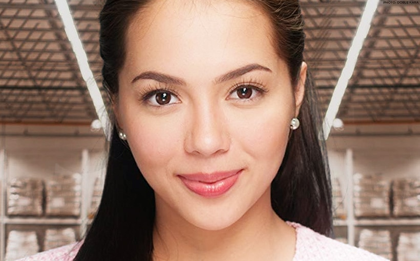 Julia Montes spotted at a supermarket in San Juan