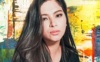Angel Locsin shows off her first-ever artwork!