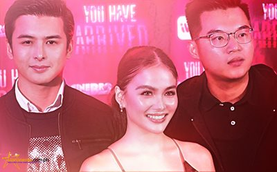 IN PHOTOS: Elisse Joson and Teejay Marquez join their fans in 'You Have Arrived' Special Screening
