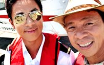 Kim Atienza takes first flight with his pilot son!