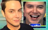 Paolo Ballesteros sets an unofficial record for not blinking!