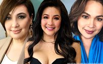 Regine fangirls over Judy Ann and Sharon!