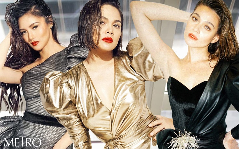 Judy Ann, Bea, and Kim are Metro Magazine's cover girls for its 30th anniversary issue!