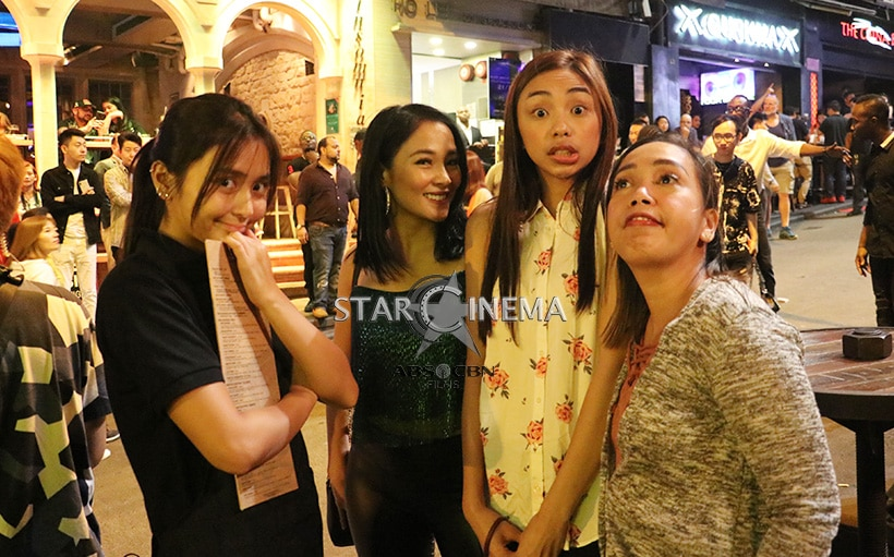 #SquadGoals featuring Kathryn, Maymay, Kakai and Lovely!