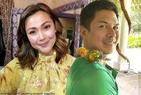 Jodi Sta. Maria, Raymart Santiago take care of pet bird George