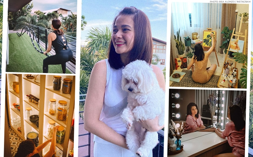 Bea Alonzo's walk-in closet is what dreams are made of