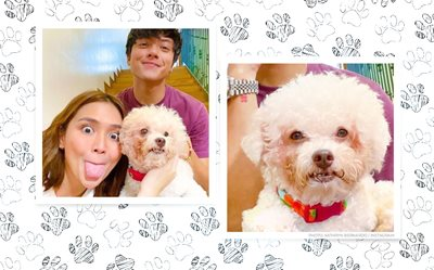 Kathryn Bernardo goes on a walk with her 'The House Arrest of Us' co-star, Summer!