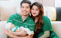 Rodjun Cruz, Dianne Medina take first family portrait with their newborn!