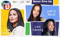 Here's how Iza Calzado, Maris Racal, and Lou Yanong keep hope alive