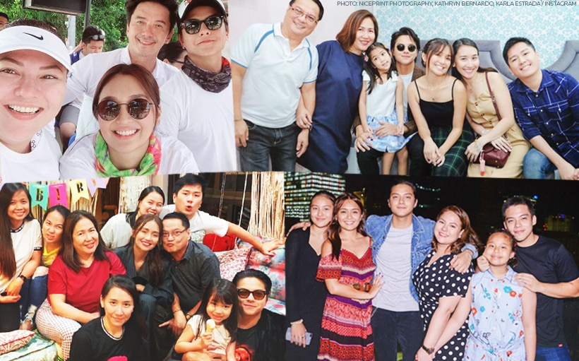 Kathryn and Daniel's families have grown closer over the years