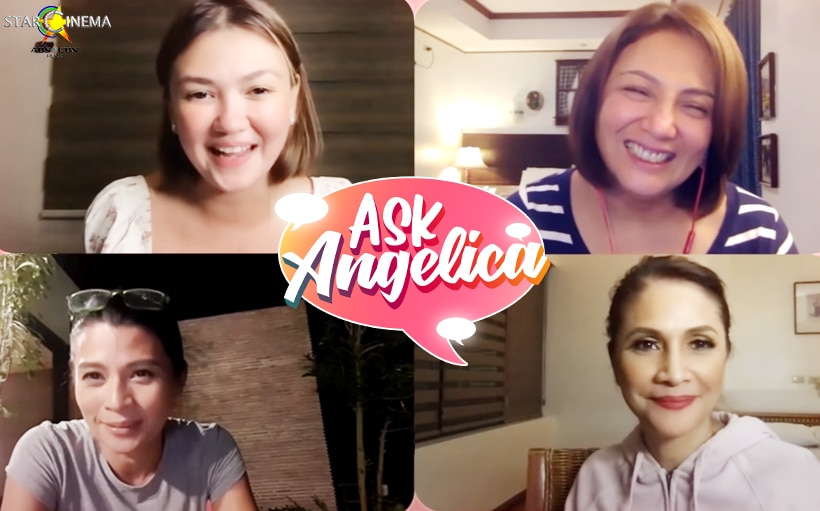 Cherry Pie, Agot, and Mylene answer 'MILF' questions on 'Ask Angelica'!