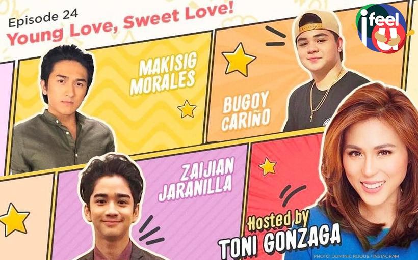 Bugoy, Makisig, and Zaijian on young, sweet love!