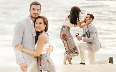 Rachelle Ann Go, Martin Spies look back on their gorgeous engagement