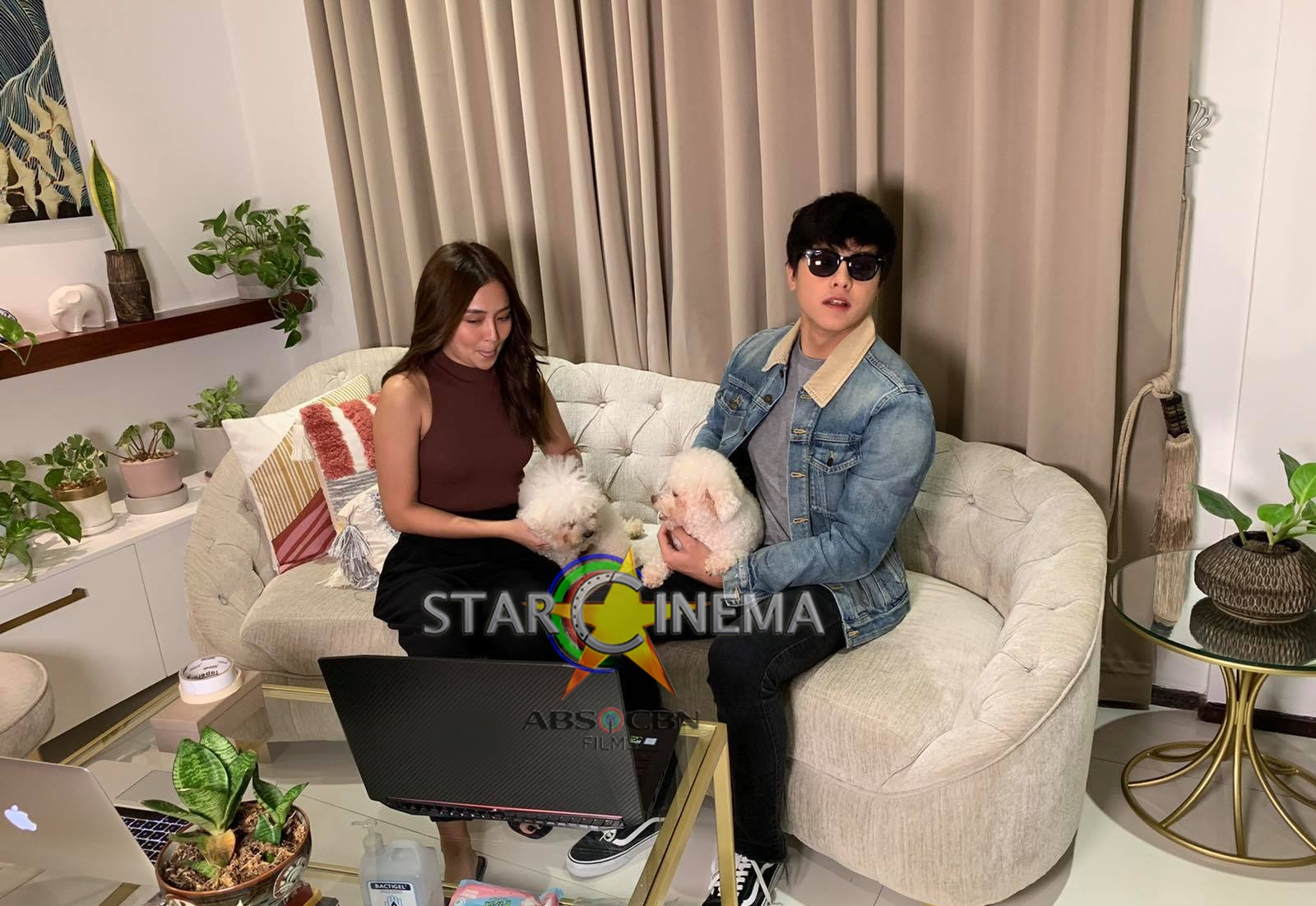 KathNiel's candid BTS moments from 'The House Arrest of Us' fancon