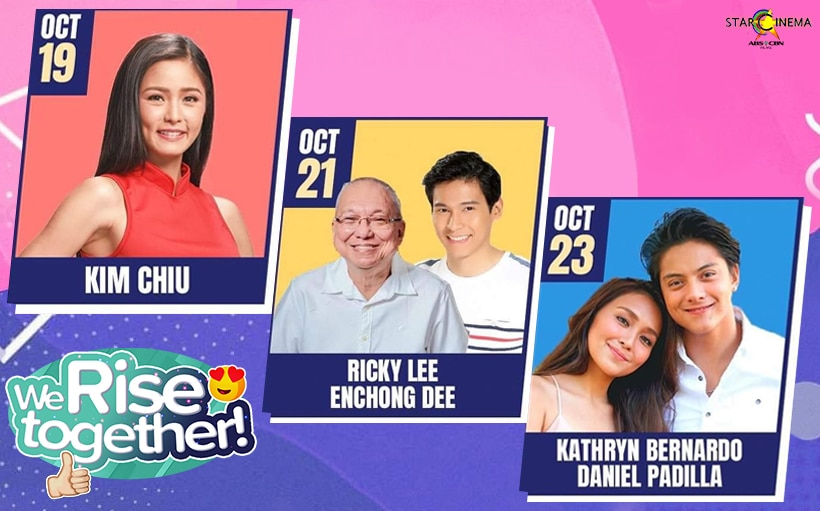 This Week on 'We Rise Together': KathNiel on their 'House Arrest' experience, Kim on her viral Tikbalang photo + more!