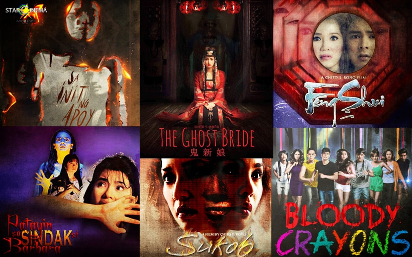 10 of Star Cinema's scariest horror films, now on iTunes!