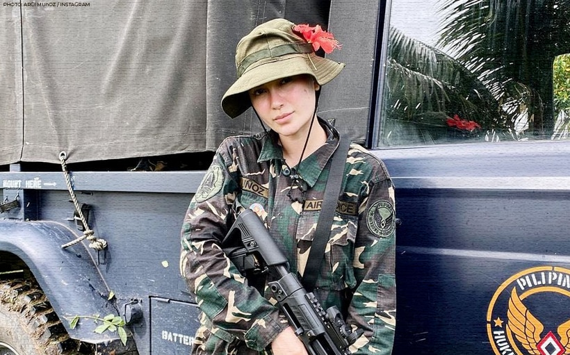 Arci Muñoz shares the painful aftermath of her military training at the Philippine Air Force!